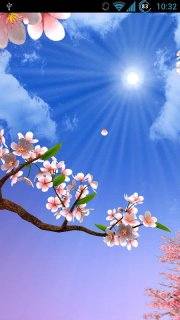Sun Seasons Live Wallpaper screenshot 1