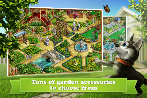 Дивный Сад - квест на поиск предметов и благоустройство собственного сада.