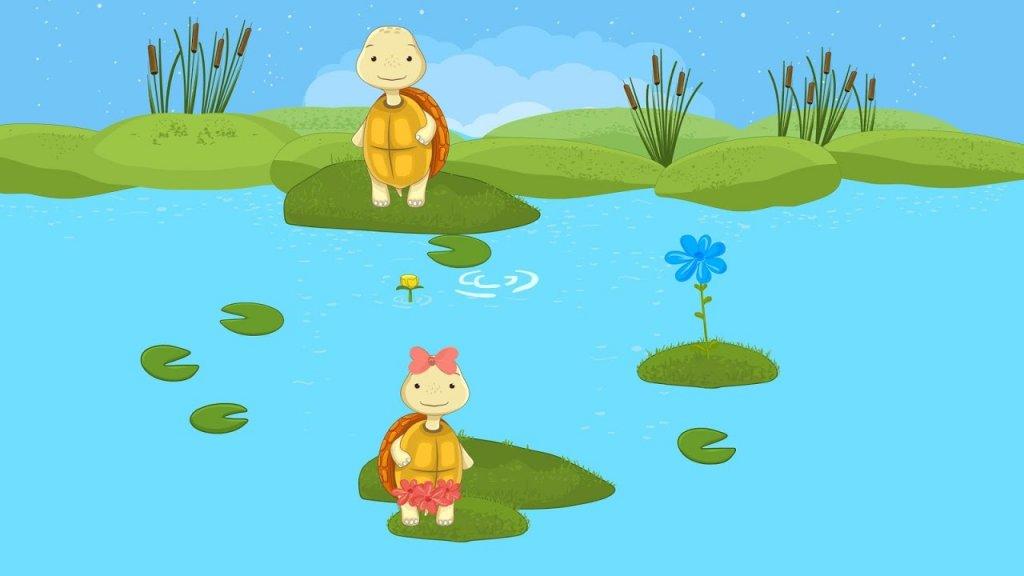 2.《海狸鼠》:海狸鼠妈妈丢失了它的小宝宝,帮助她找到她的小宝宝.