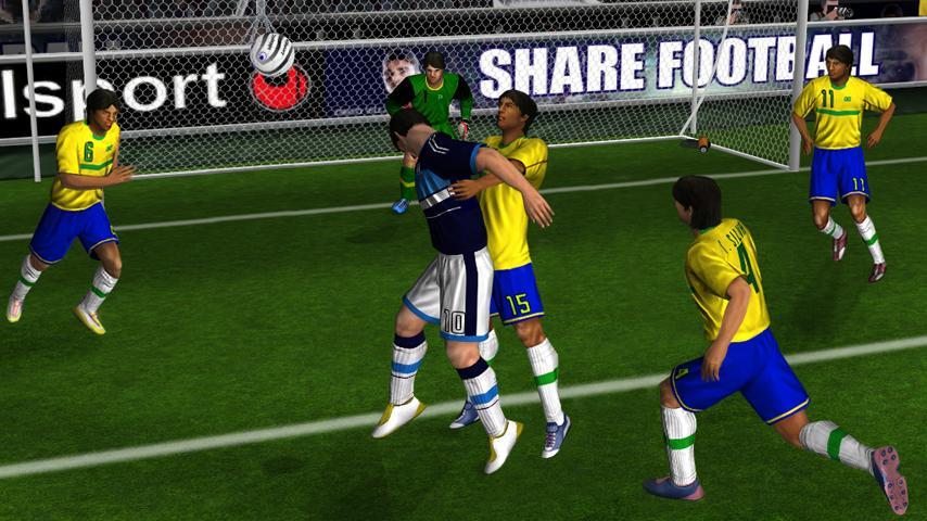Real Football 2012 - это и есть реальный футбол для iДевайсов, футбол с пол