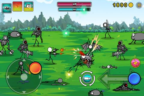 Android игра: Cartoon Wars: Gunner - Мультяшные войны: Пулеметчик (apk) .