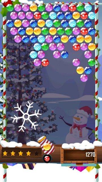 Любимая миллионами игра Шарики в новогоднем издании и в праздни