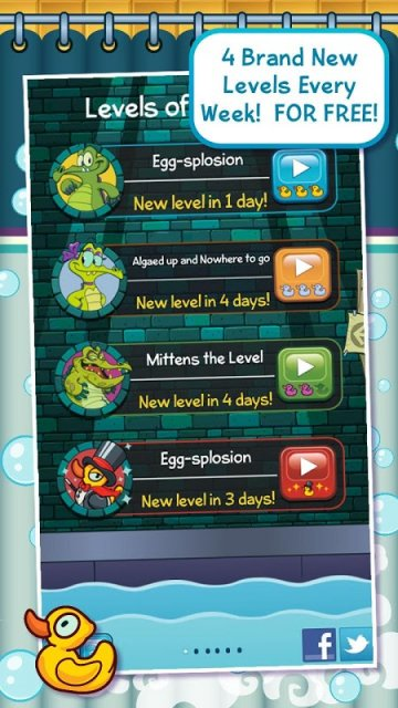 Скачать Крокодильчик Свомпи для Android абсолютно бесплатно только на www.d
