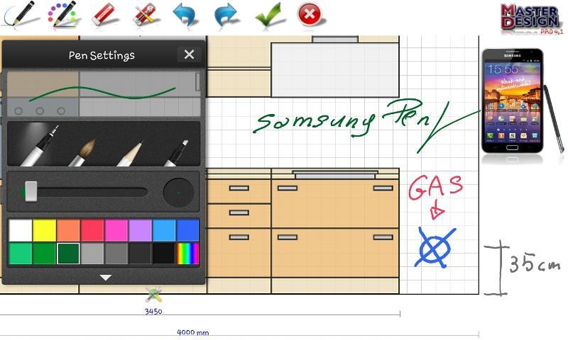 Дизайн интерьера для андроид