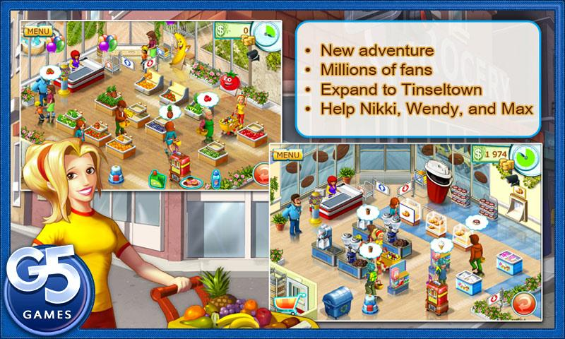Андроид игра Supermarket Mania 2. Скриншоты к игре Супермаркет Мания 2.