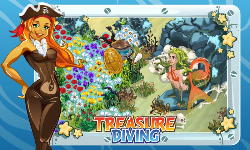 Взлом игры. Сокровища подводного мира - Нам нужно исследовать морское.